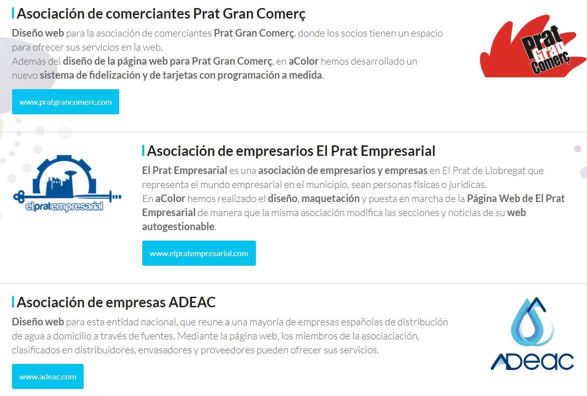 Diseño web para asociaciones
